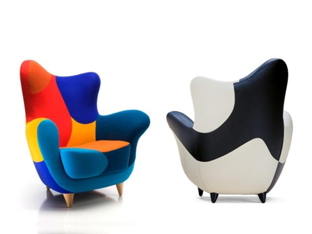 Alessandra armchair by spanish designer javier mariscal for Javier mariscal design