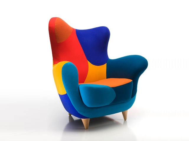 Mariscal javier alessandra armchair los muebles for Javier mariscal design
