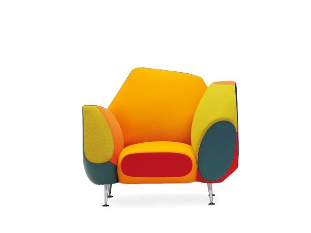 Hotel 21 grand suite armchair by spanish designer javier for Javier mariscal design