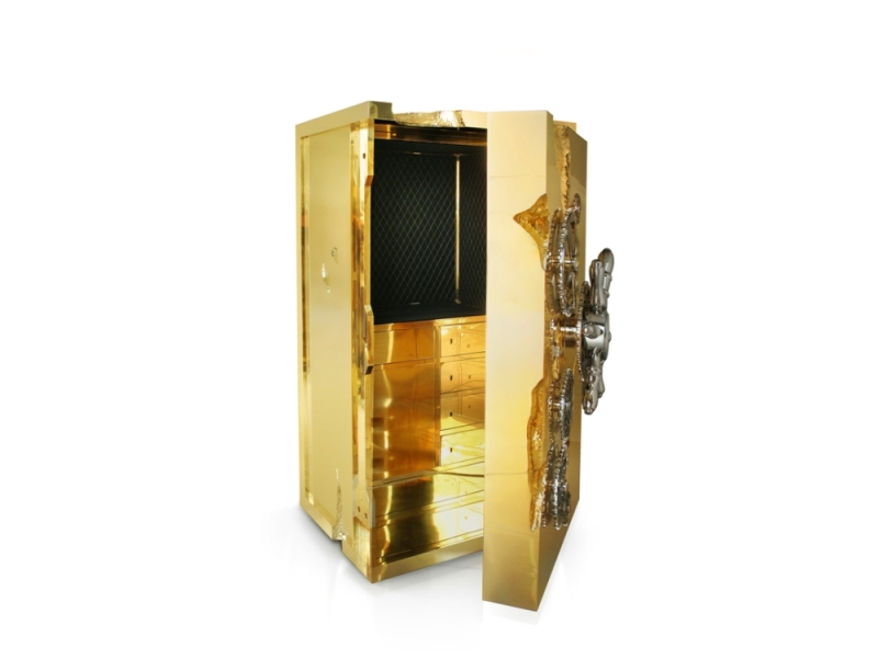 Millionaire Safe Box Amp Cabinet From Boca Do Lobo Private