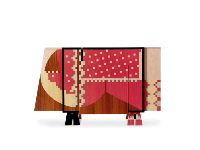 Calamobio Chest Of Drawers Dresser By Alessandro Mendini Original Edition 1985 From Studio