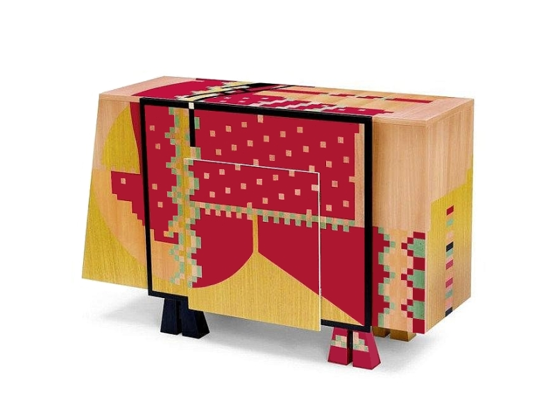 Calamobio Chest Of Drawers Dresser By Alessandro Mendini