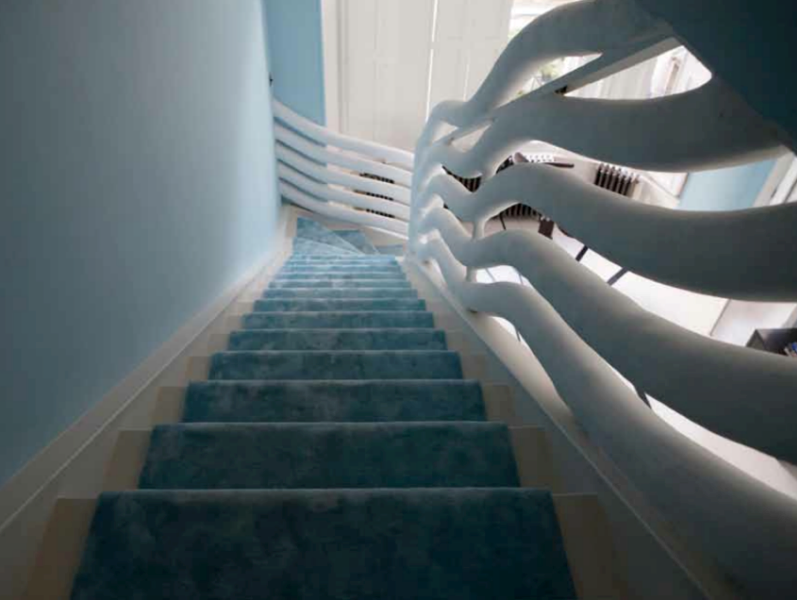 19 Curvilinear Staircase Designed By Danielle Moudaber
