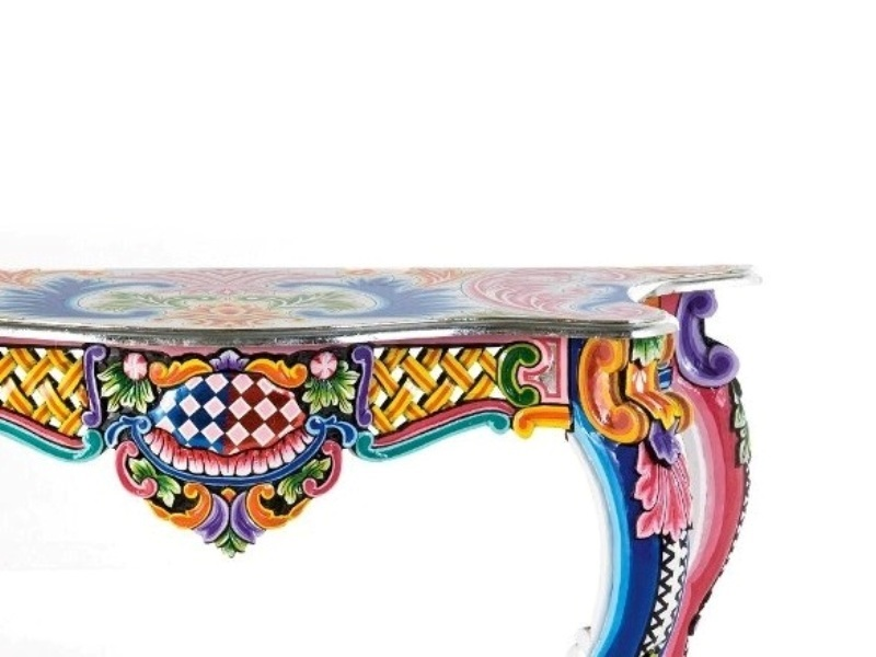 Fantasia Console Table Wall Mirror From Kare Design