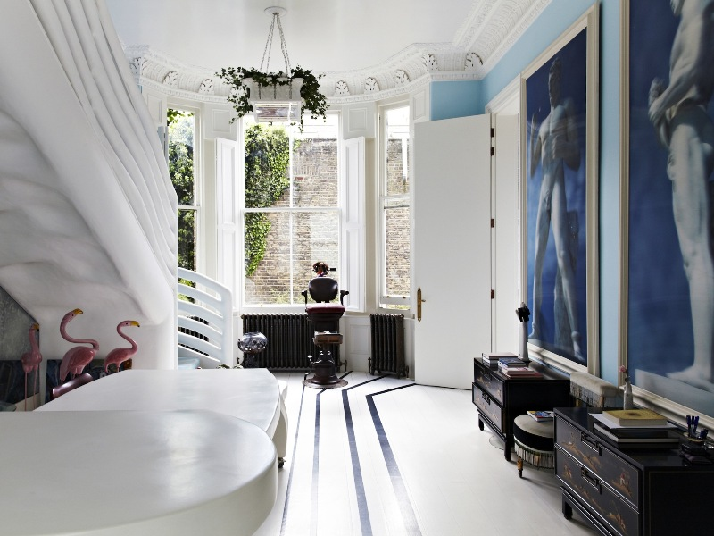 The london flat of interior designer danielle moudaber 16 for Interior design south london
