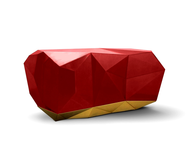 DIAMOND BLOOD RED Sideboard-Credenza-Buffet by Pedro Sousa from ...